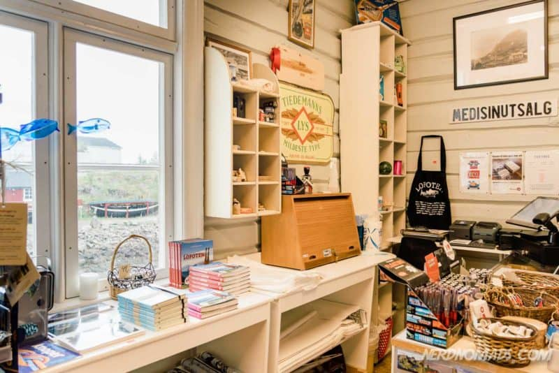 Old Shop Norwegian Fishing Village Museum A Lofoten