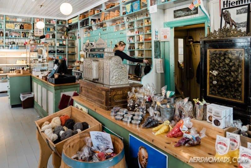The old shop in Nusfjord, Lofoten