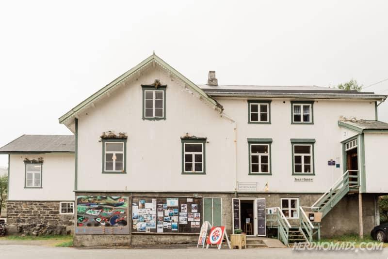 Post Office Norwegian Fishing Village Museum A Lofoten