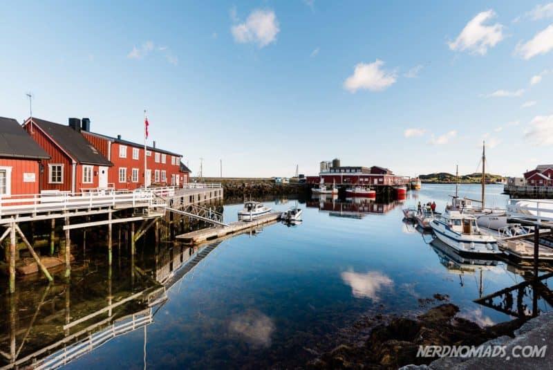 Solsden Ballstad Lofoten, Norway