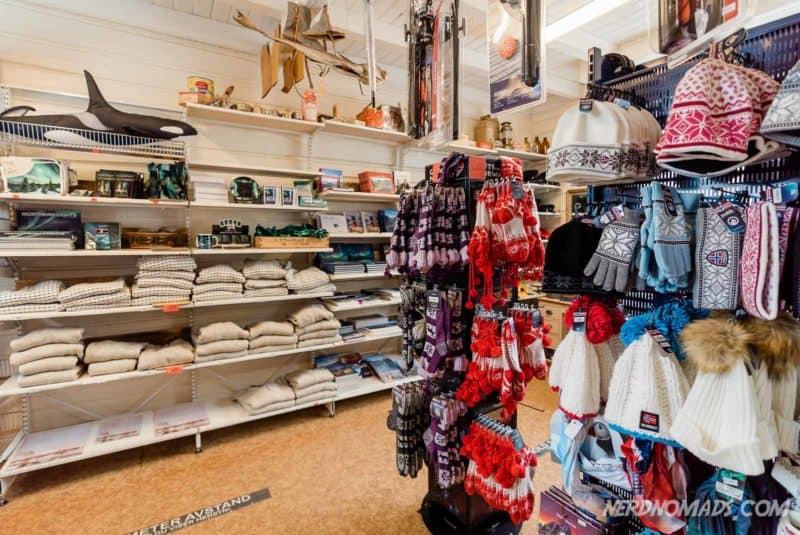 Souvenir Shop A Lofoten