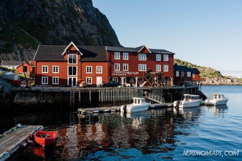 Stockfish museum A Lofoten Norway