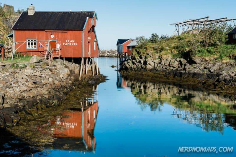 Trandamperi Norwegian Fishing Village Museum A Lofoten