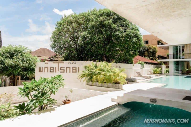 Wabi Sabi Hotel swimming pool, Phuket