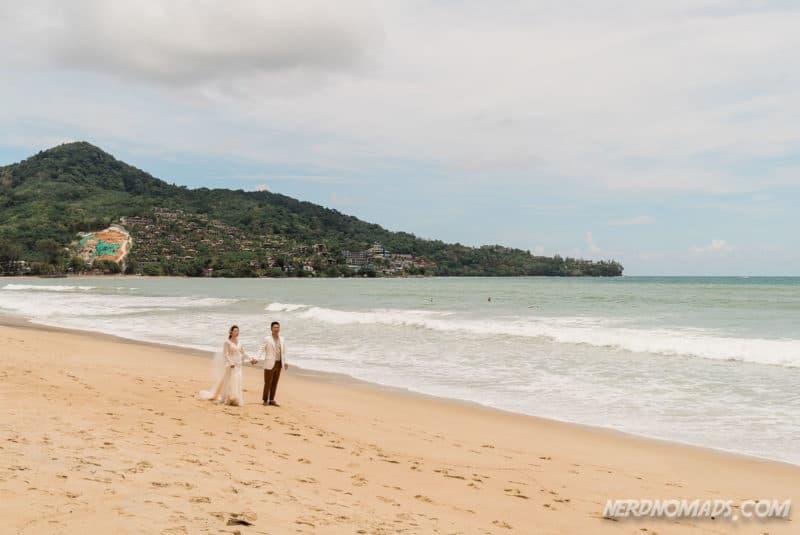 Kamala Beach is popular for weddings