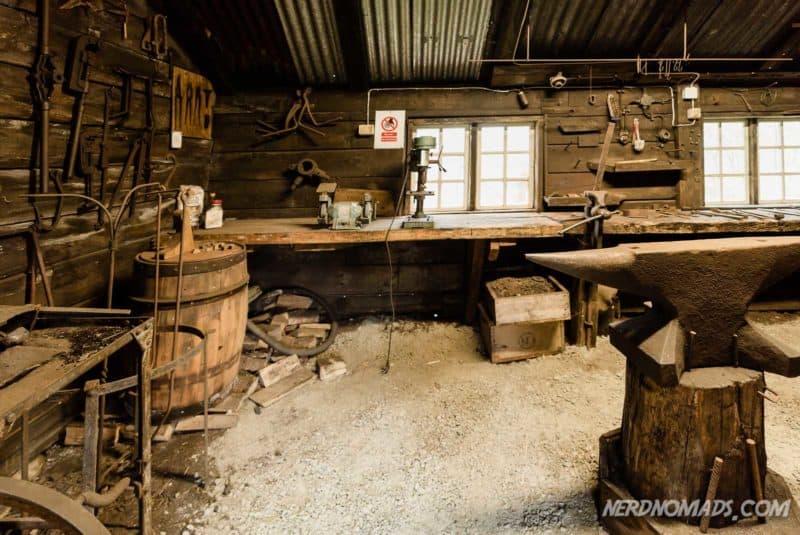 Black smith Norwegian Fishing Village Museum A Lofoten