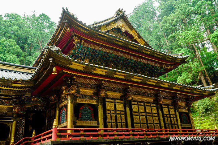 The Taiyuin-byo Shrine in Nikko