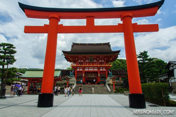 Fushimi Inari Shrine Kyoto is free