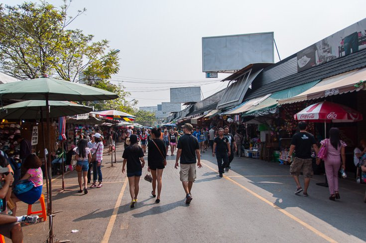 The Chatuchak Weekend Market In Bangkok
