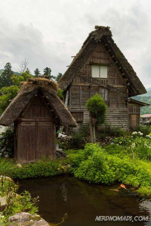 Gassho-zukuri house Japan