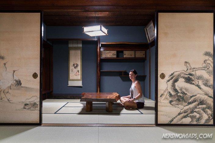 Inside Wada House