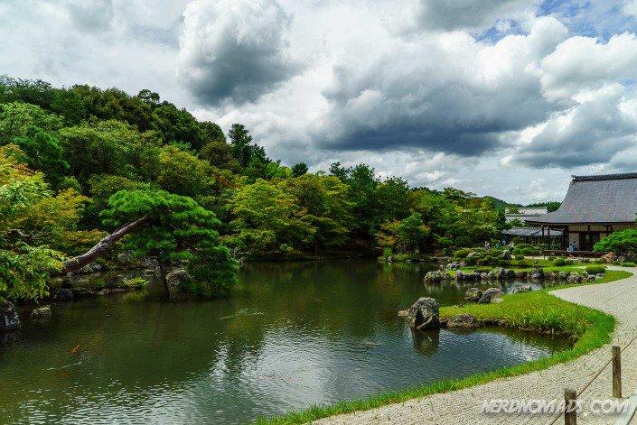 Garden Tenryu-Ji temple