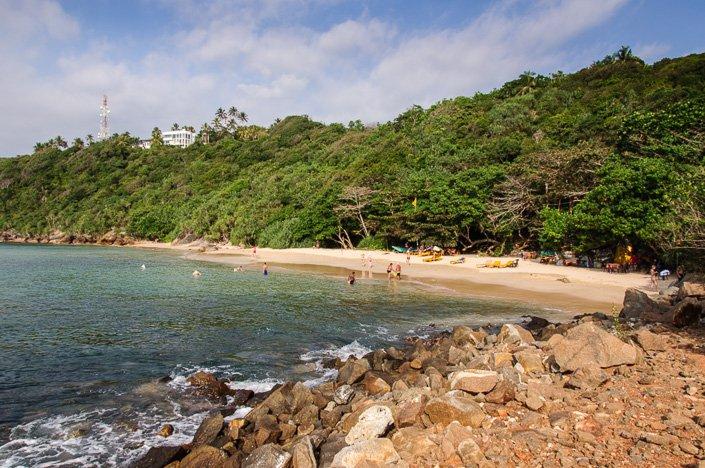 The Small Bay That Is Jungle Beach Unawatuna