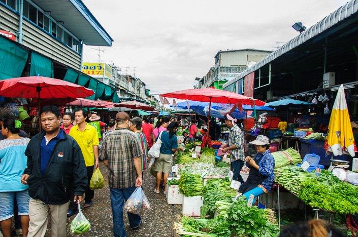 Klong Toey Market Bangkok