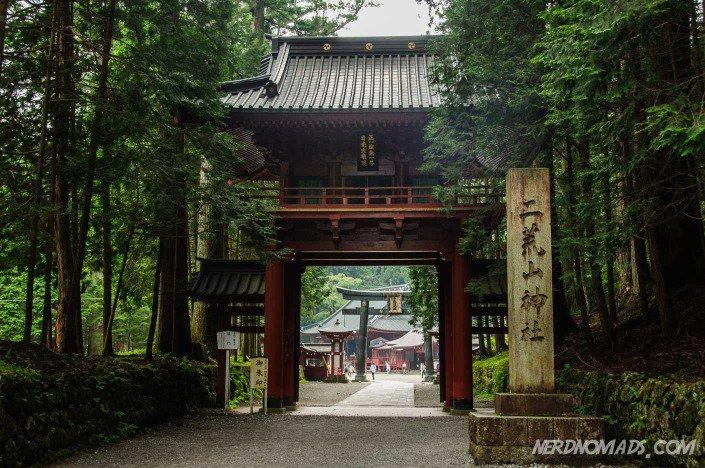 A torii gate