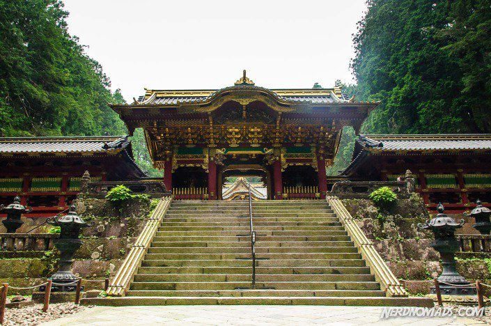 The beautiful and peaceful Taiyuin-byo Shrine in Nikko
