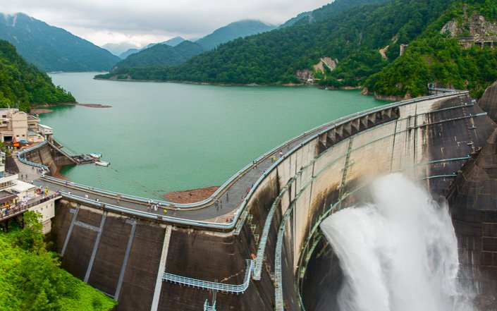 Kurobe Dam Japan