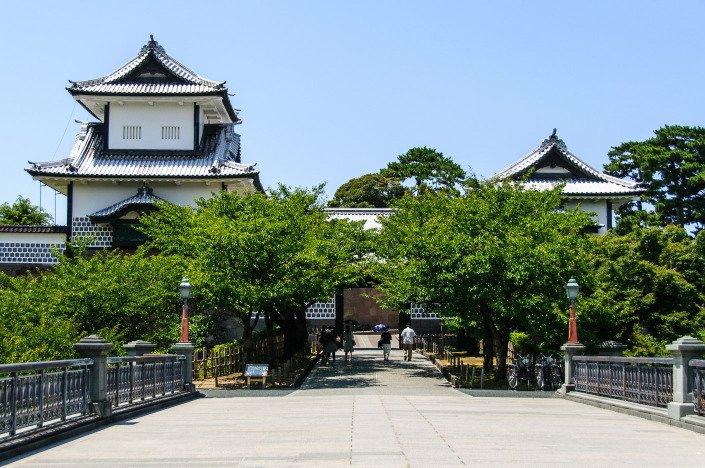 Ishikawa-mon gate at Kanazawa Castle