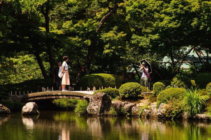 Kenroku-en Garden Kanazawa