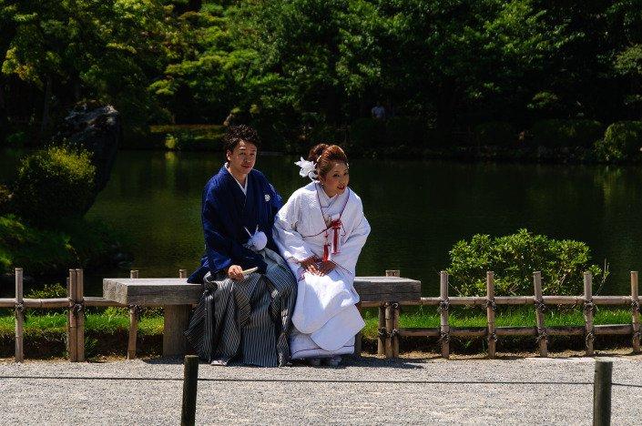 Wedding Kenroku-en Garden Kanazawa