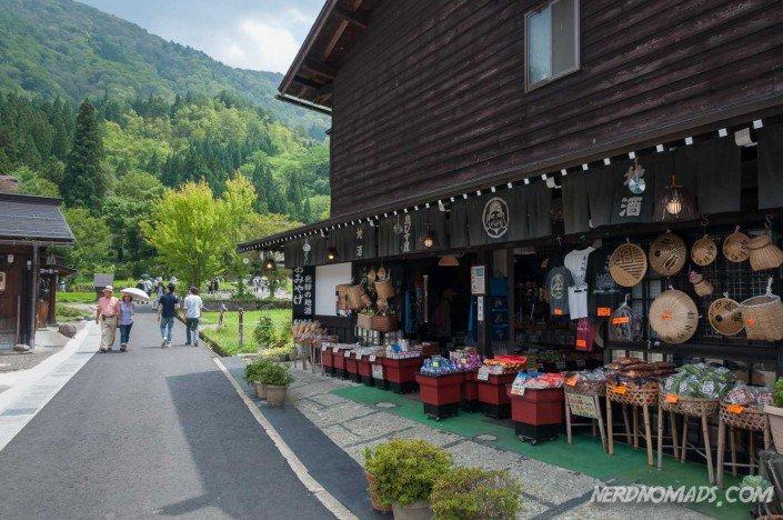 Shirakawa-go souvenir shop
