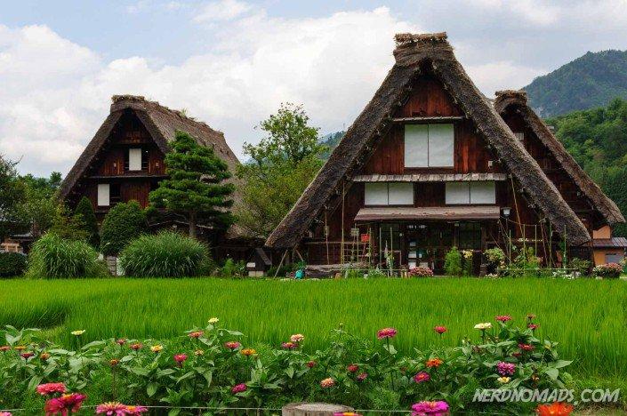 Gassho-zukuri Japan