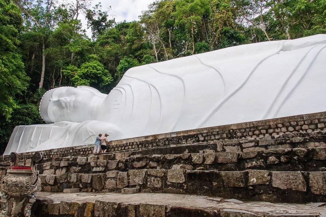 Climbing Ta Cu Mountain Mui Ne, Vietnam