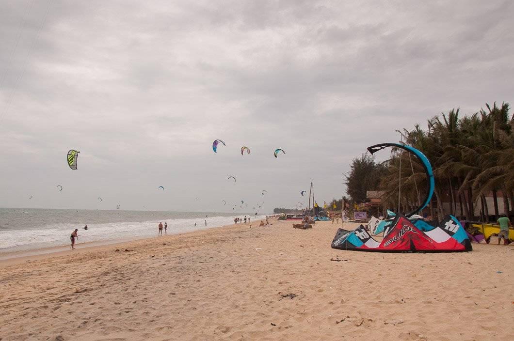 Kitesurfing Mui Ne - Nerd Nomads