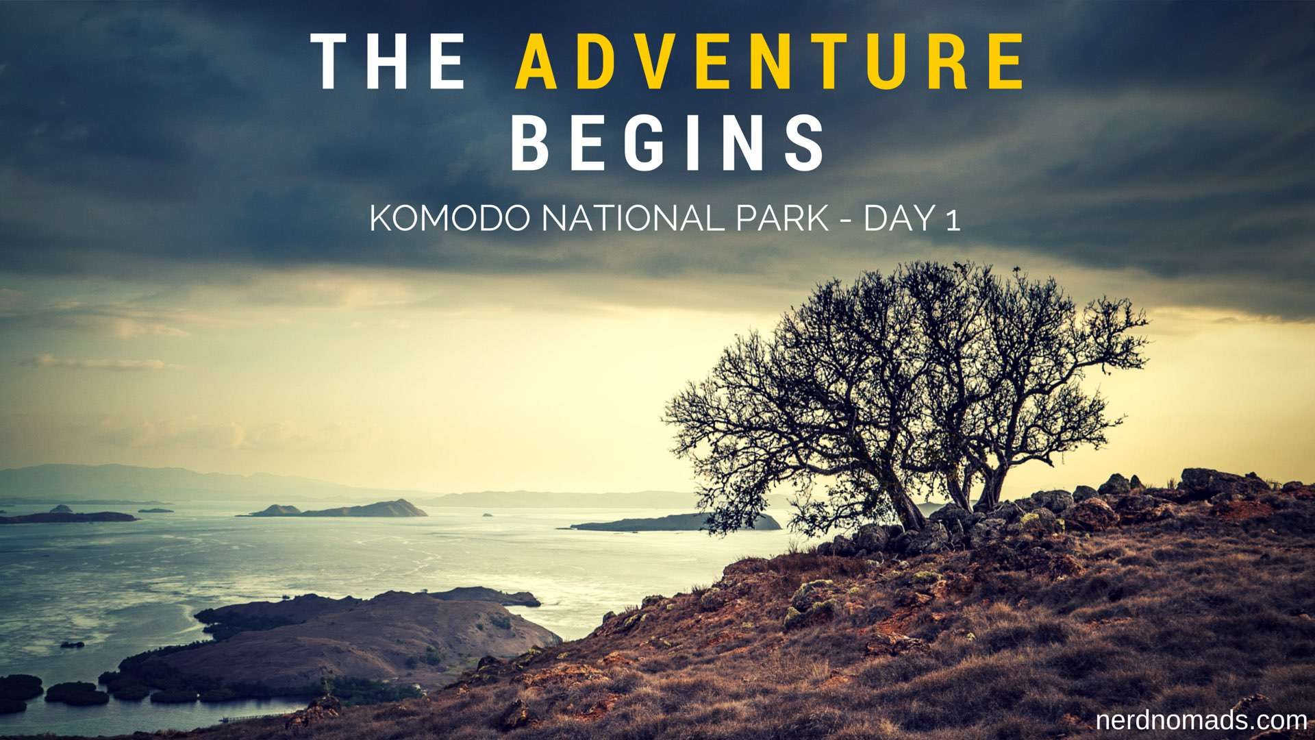 The Adventure Begins – Komodo National Park Day 1