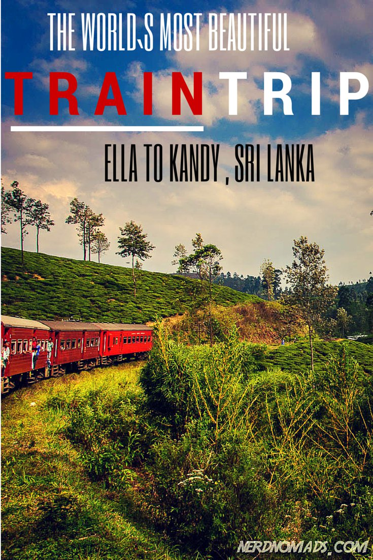 World`s Most Beautiful Train Trip? Sri Lanka Train Travel