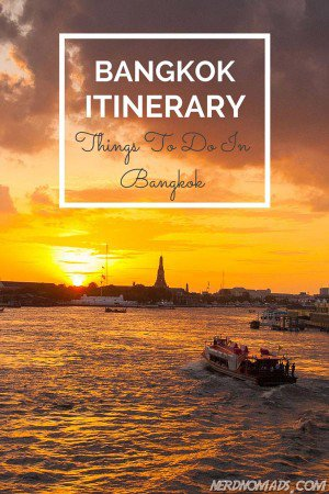 Heading for Bangkok? Check out this Bangkok itinerary on what do do and see in Bangkok!