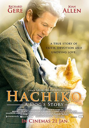 Image result for hachiko the dog movie